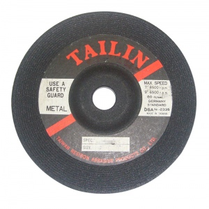 GRINDING DISC: 180X6X22MM A24 TALIN