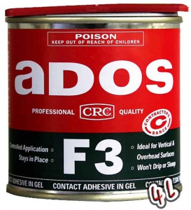 ADOS: F3 ADHESIVE 4 LITRE 8024