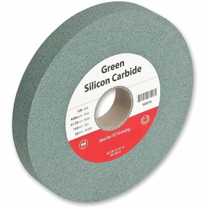 GRINDING WHEEL: 150 X 19 X 31.75MM S/CARBIDE GREEN