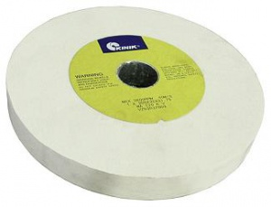 GRINDING WHEEL: 200 X 25MM 120G  WHITE