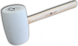 RUBBER MALLET: 16OZ MAXPOWER (WHITE)