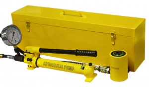 HYDRAULIC CYLINDER: 20 TON HOLLOW TYPE TEST KIT