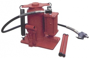 AIR/HYD BOTTLE JACK: 12TON