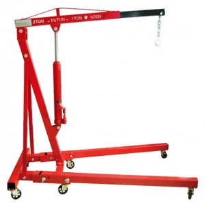 HYD/ENGINE CRANE: 2 TON FOLDING