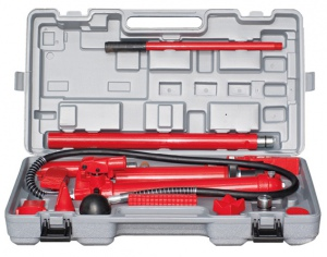 HYDRAULIC BODY JACK:  10 TON KIT