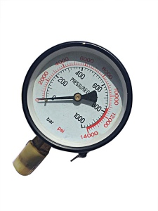 PRESSURE GAUGE: 50 TON PRESS