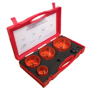 HOLESAW SET: 6PC SET