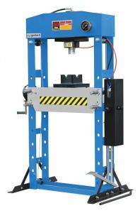 HYDRAULIC PRESS: 50 TON FLOOR FHP-50(manual)