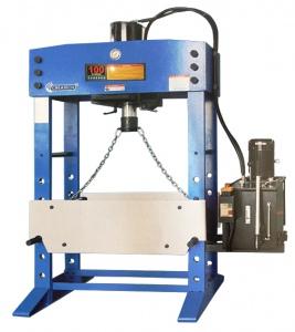 HYDRAULIC PRESS: 100 TON Hyd W/shop Press HPM-100A