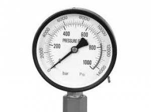 PRESSURE GAUGE: HYDRAULIC PRESS 50TON