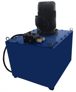 HYDRAULIC POWER PACK: TANK & MOTOR