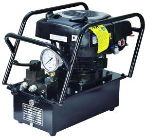 HYDRAULIC POWER PACK: 5.5HP PETROL 700 BAR 2 WAY