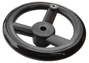 HAND WHEEL: HP-3 PLASTIC 88MM