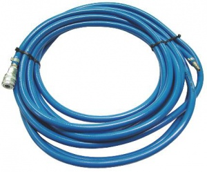 AIR HOSE: 10MM X 10M BLUE COMPLETE W/FITTINGS
