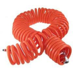 RECOIL HOSE: 8MM X 8M RED
