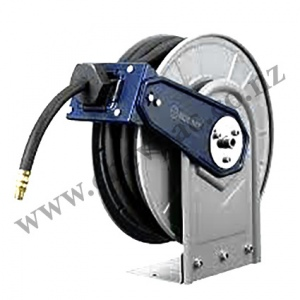 RETRACTABLE  HOSE REEL: AIR 10MM X 15M