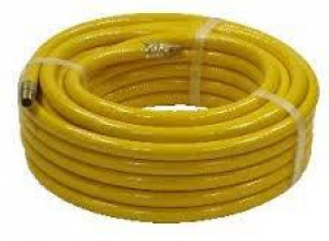 AIRLINE HOSE: 10MM YELLOW PER METRE