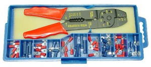 CRIMPING TOOL SET: 60PCS TERMINALS
