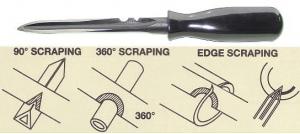 MACHINIST SCRAPER: 5 BLADE C/VAN 6