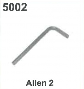 KEY/WRENCH: (ALLEN 2) #5002