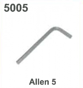 KEY/WRENCH (ALLEN 5) #5005