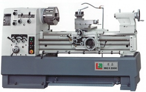 LATHE: LA-560 560 X 2000 X 80MM BORE (TAIWAN)