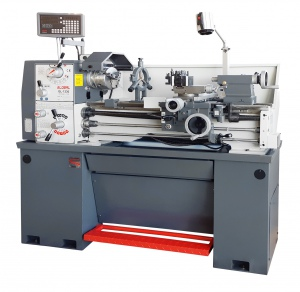 LATHE: GL-1330 GLOBAL 38MM BORE, 1 PHASE