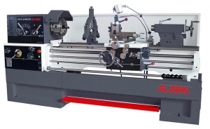 LATHE: GL-1640 GLOBAL 80MM BORE, 3 Phase