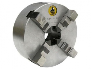 LATHE CHUCK: TOS 4 JAW 80MM SELF CENTERING