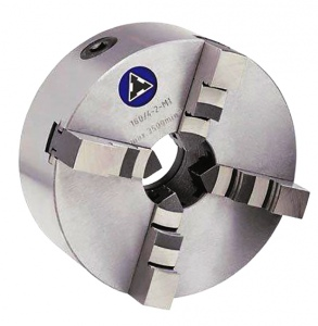 LATHE CHUCK: TOS 4 JAW 100MM H/ACCURACY SELF CENTRE