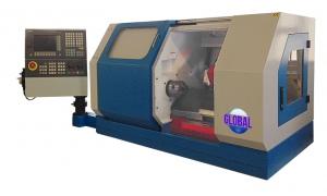 CNC LATHE: SLANT BED GLOBAL GL-2820