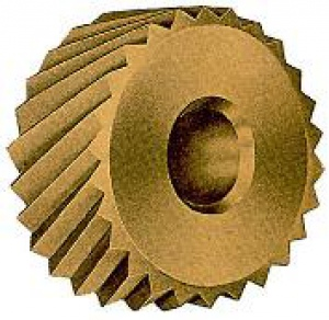 KNURL/WHEEL: CZ 20 x 10MM x 1.0 LEFT
