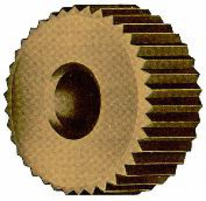 KNURL/WHEEL: CZ 20 x 10MM x 1.0 STRAIGHT