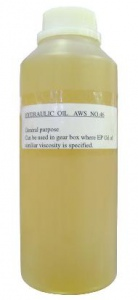 HYDRAULIC OIL: AWS-46 Lubrication / Hydraulic - 1 Litre