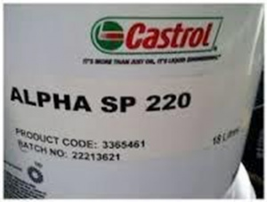 GEARBOX OIL: ALPHA SP220