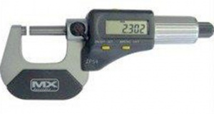 MICROMETER: M/MAX DIGITAL 0-25MM
