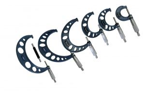 OUTSIDE MICROMETER: 0-300MM DASQUA 12PC SET