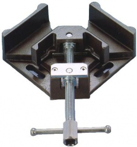 CORNER WELDING VICE: 100MM H/DUTY - with COPPER SCREW