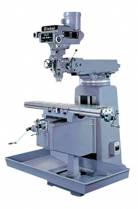 MILLING MACHINE: 3H 1270 X 254MM TABLE TURRET TAIWAN