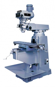 MILLING MACHINE: 4H 1270 X 254MM TABLE TURRET TAIWAN