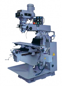 MILLING MACHINE: 6H 1372 X 254MM TABLE TURRET TAIWAN