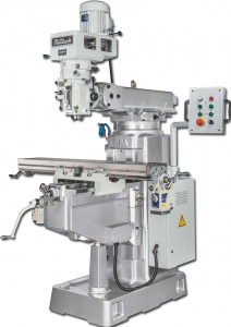 MILLING MACHINE: 4VS 1370 X 254MM TABLE TURRET TAIWAN