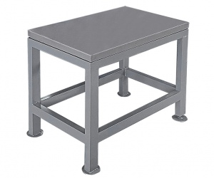 MARKING OFF TABLE: 800 X 500MM CAST INC STAND