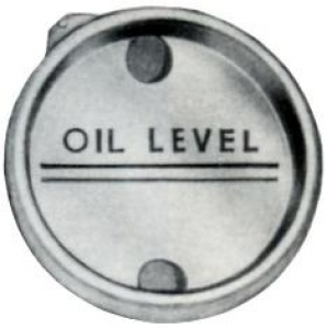 OIL LEVEL SIGHT GAUGE: 20MM OD PRESS FIT