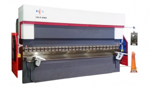 PRESS BRAKE: 2 AXIS ADH WC67E-160T X 4000MM ESTUN E200P