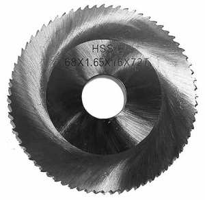 SAW BLADE HSS FOR S.S. PIPE 68x1.8x16x 72T