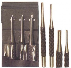 PIN PUNCH SET: GROZ 4PC PP/4SM