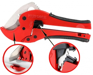 PVC RATCHET PIPE CUTTER: 64.0MM MAXPOWER