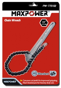 CHAIN PIPE WRENCH: 15