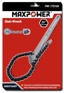 CHAIN PIPE WRENCH: 24